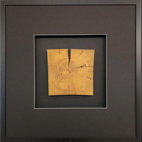 Wandbild Holz quadratisch 58 cm quadratwerk