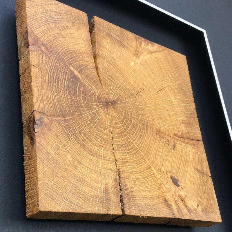 Wandbild Holz Holzbild